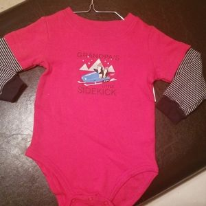 Grandpas little sidekick onesie 18m
